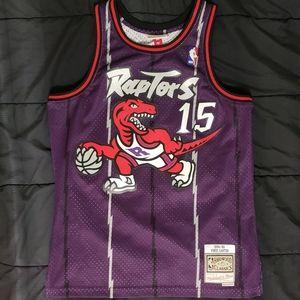 Toronto Raptors Vince Carter Throwback Jersey